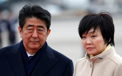 Japan PM Wife's Name Removed From Documents In Suspected Cronyism Scandal-Media