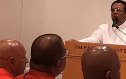 Gnanasara Thero is Not  Part of President's Delegation to Japan