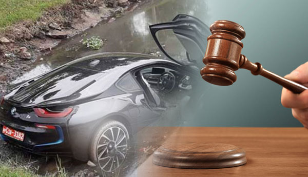 Fast News Owner Of Bmw I8 Brand Super Luxury Car Fallen Into