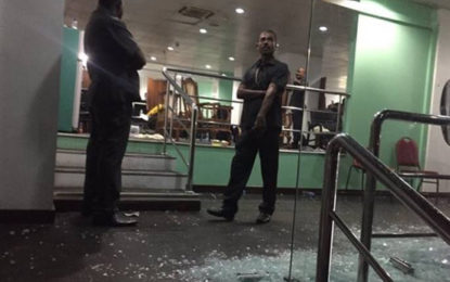 Bangladesh Dressing Room Glass Door Allegedly Broken By Players