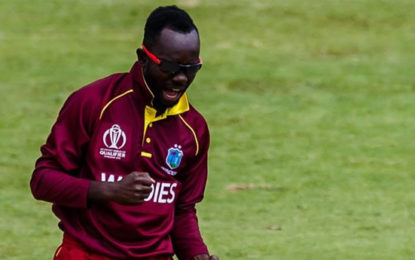 West Indies Beat UAE in World Cup Qualifier