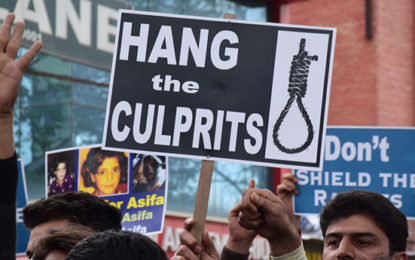 Indian Government Cabinet Approves Death Sentence to Child Molesters