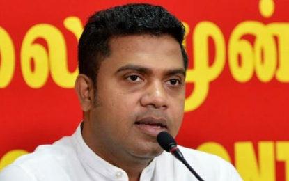 JVP MP Nalinda Jeyatissa Says Maithree is Behind the No Confidence Motion