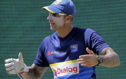 Former Interim Coach of the SL Team Nic Pothas Resigns