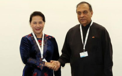 Speaker Karu Jayasuriya Begins Vietnam Visit