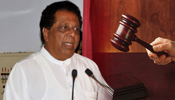 Former Deputy Minister Sarath Kumara Gunarathne & 5 Others Released on Bail
