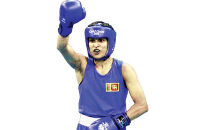 Anusha Dilrukshi Became the First Ever SL Woman Boxer to Enter a Semifinal in a Commonwealth Games