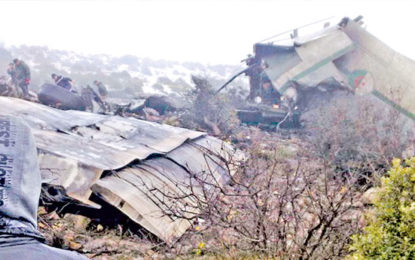Over 250 killed in Algerian Plane Crash