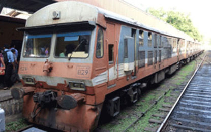 Train Services on the Puttalam Line Restricted