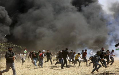 Israeli Gunfire Wounds At Least 28 Palestinians As Gaza Border Protests Build