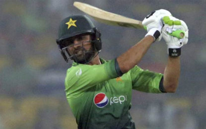 Pakistan's Shoaib Malik Wants to Play On Until 2020 World T20