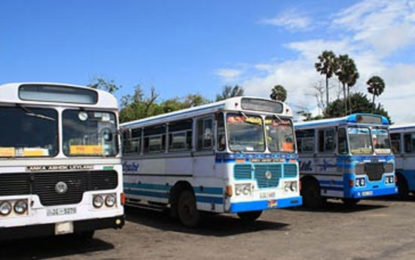 Bus Operators Along Kalutara – Colombo Route on Strike