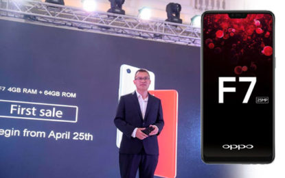 OPPO Introduces F7 Smart Phone with AI Beauty 2.0 Technology