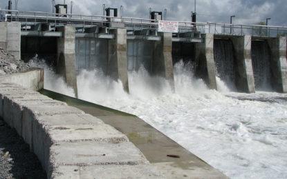 6 Spill Gates of Deduru Oya Reservoir Opened