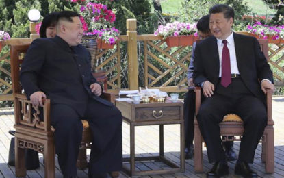 North Korean Leader Kim Jong Un Visits China, Meets With Xi Jinping