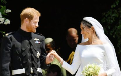Releasing Official Photos of Harry & Meghan.