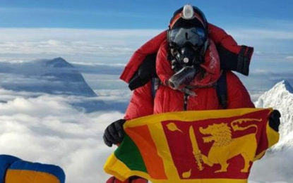 Johann Peries Successfully Summits Mount Everest