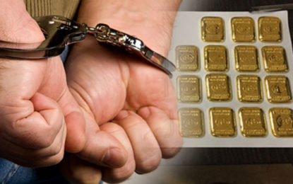 Polish National Arrested With 100 Gold Biscuits