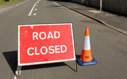 Ward Place Road Temporarily Closed Due To Protest