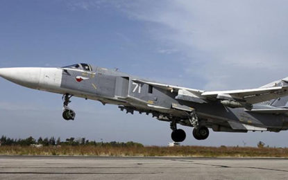 Russia Says War Plane Crashes in Syria, Killing Two Pilots: Agencies