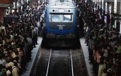 A Token Strike By Group of Railway Employees From Midnight Today