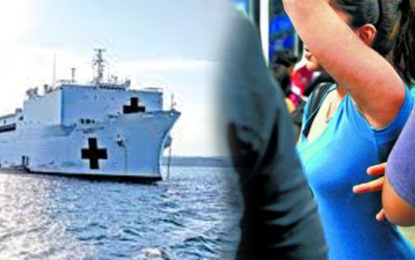 Attempt To Molest Two Women Sailors of U.S.N.S Mercy Hospital Ship Berthed In Trincomalee?
