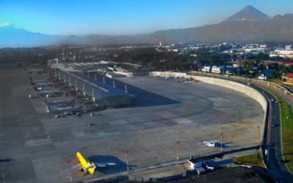 Volcanic Ash Forces Guatemala Airport to Suspend Operations.