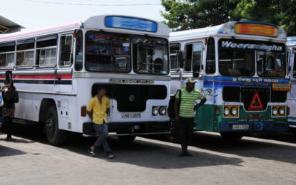 Bus Strike Continues