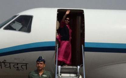 Sushma Swaraj's Plane Loses Contact with ATC for 14 Minutes