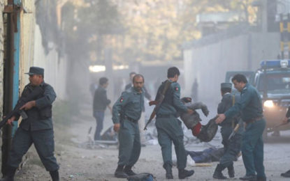 At Least Twelve Killed In Kabul Suicide Blast