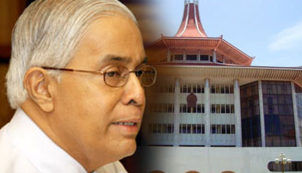 Former Chief Justice Sarath N. Silva's FR Petition Against PC Elections (Amendment) Act Rejected