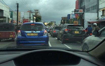 HeavyTraffic Congestion at Maradana
