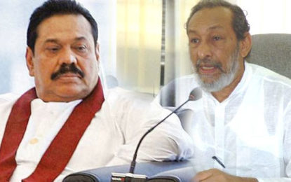 Vasu Wants Mahinda Rajapaksa as the PM