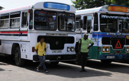 Mullaitivu Private Bus Owners on Strike…