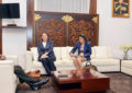 Asia-Pacific Director at UN Dept. of Political Affairs hold talks with Army Commander