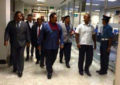 Mahinda Rajapaksa on a private visit to Singapore