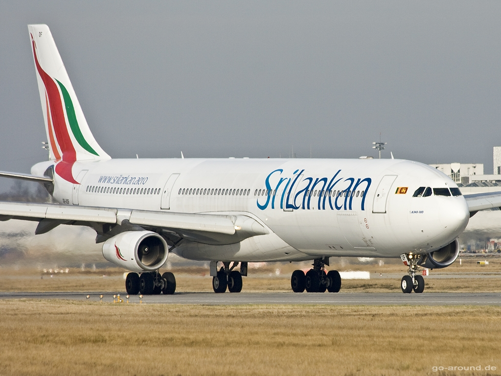 Typhoon Mangkhut delayed SriLankan Airlines flight to Canton
