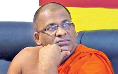 Gnanasara Thera filed an appeal in the Supreme Court