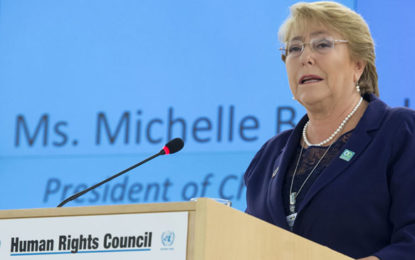 Former Chilean President Michelle Bachelet appointed as new UN Human Rights Chief