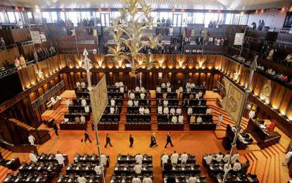 Parliament adjourned till Friday [UPDATE]