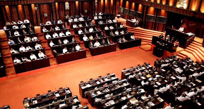 Motion approved to suspend Wimal, Prasanna from attending Parliament