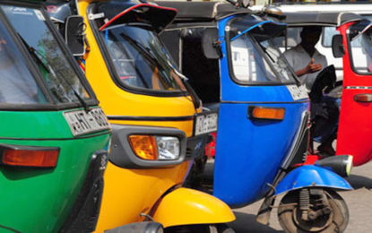 Three-wheeler fares to reduce from tomorrow