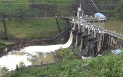 Upper Kotmale and Laxapana Sluice Gates opened