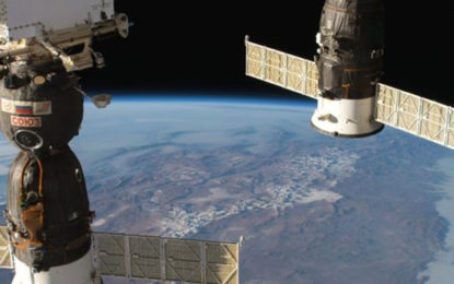 Astronauts tackle air leak on International Space Station 'caused by small meteorite'