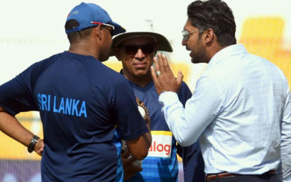 Sangakkara urges Mathews and Hathurusingha to sort out their differences