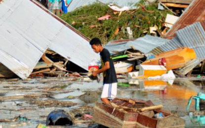 48 Dead, hundreds injured in Indonesian earthquake and tsunami