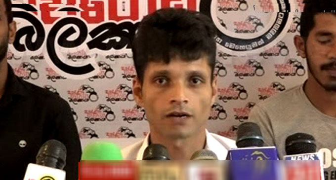 Namal Kumara taken into CID custody