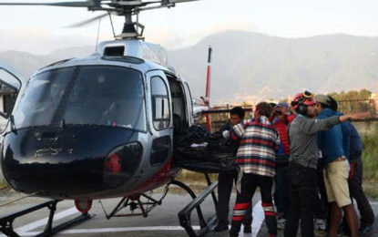 Nepal recovers storm-hit climbers' bodies
