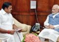 """Help fishermen facing 60 lakh fine in Sri Lanka,"" Palaniswami to Modi"