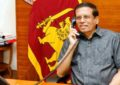 President Sirisena and Indian Premier Modi in telephone conversation